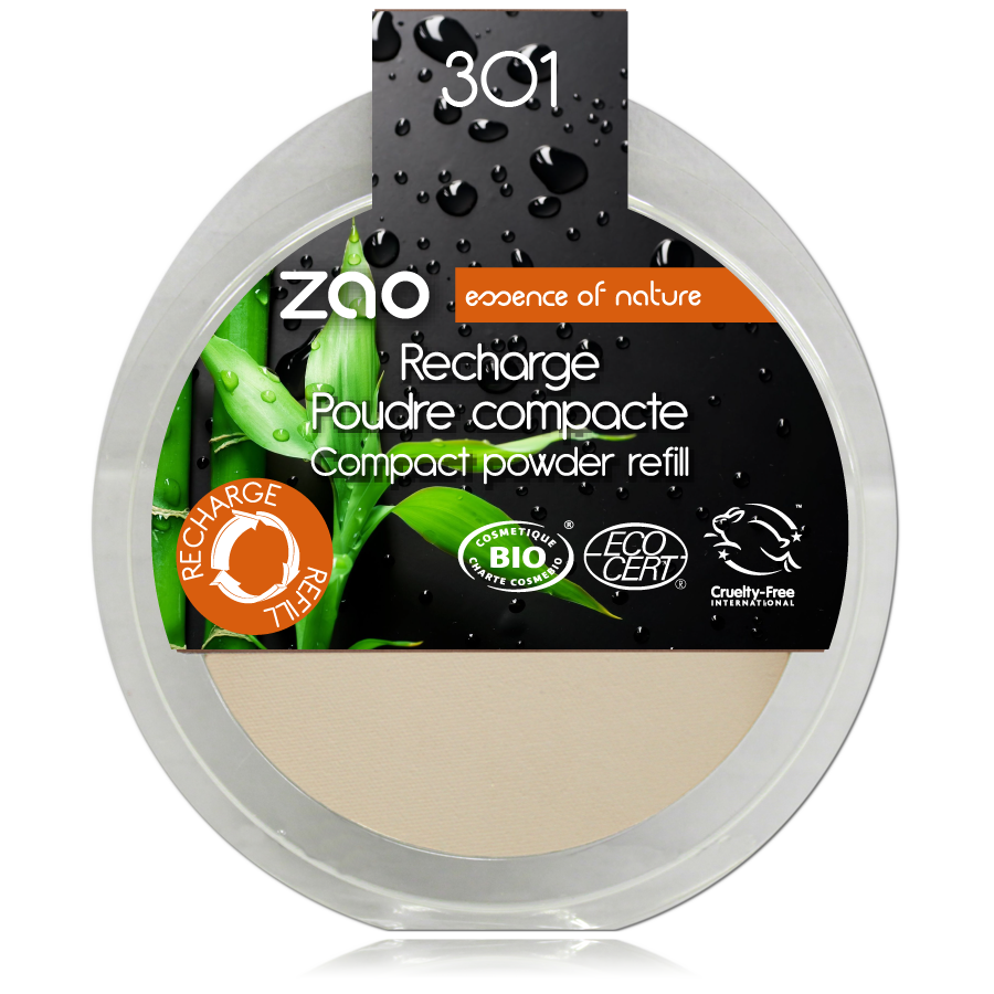 wakey zao recharge poudre compacte 301
